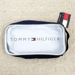 Navy blue & frosted Tommy Hilfiger Dopp kit